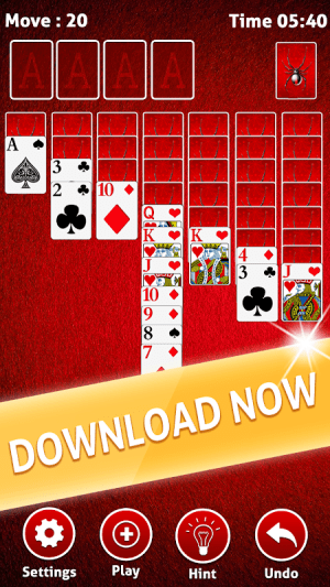 Spider Solitaire 2018 7.2 Screen 5