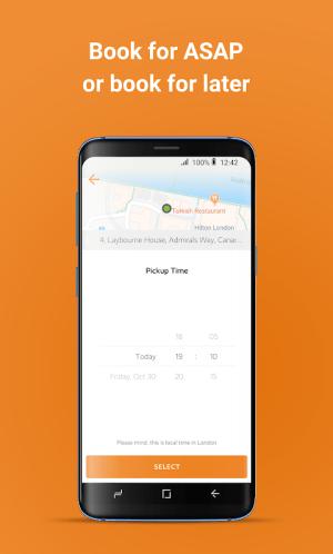 Carrot Cars – London's Minicab 20.4.0 Screen 1