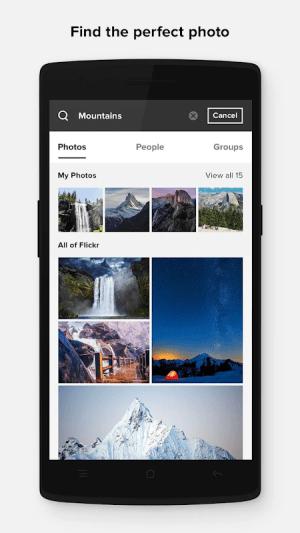Flickr 4.13.7 Screen 2