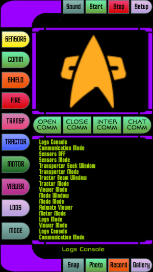 Android Star Fleet Trycorder Screen 5
