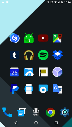 Android Iride UI is Dark - Icon Pack Screen 9