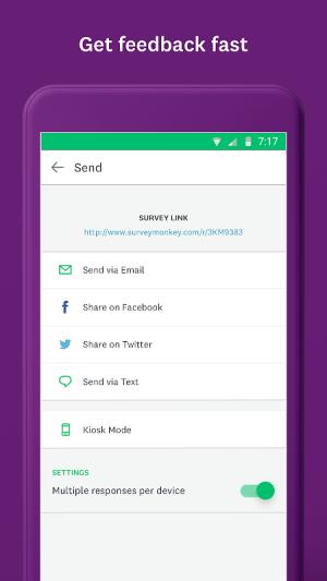 SurveyMonkey 2.1.09 Screen 3