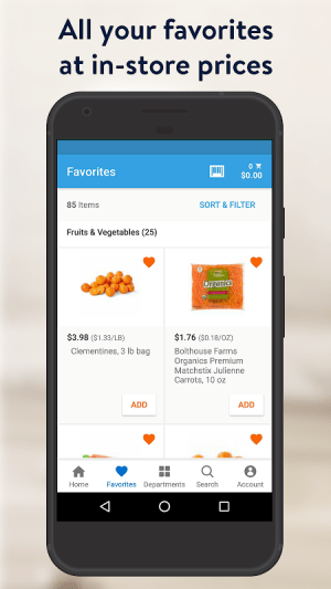 Walmart Grocery 7.0.0 Screen 5