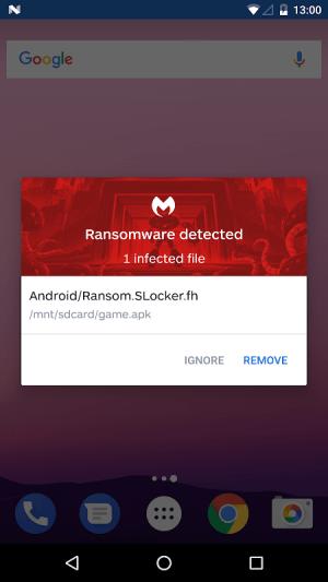 Malwarebytes Security: Virus Cleaner, Anti-Malware 3.7.3.1 Screen 7