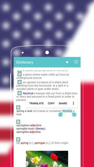Android English to Polish Dictionary Screen 4