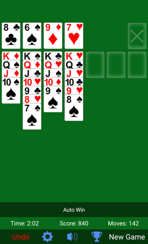 Solitaire 3.3.16 Screen 3