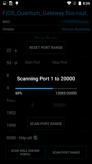 Port Authority - LAN Host Discovery & Port Scanner 2.2.8-free Screen 4