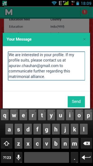 Android Free Matrimonial - Matrified Screen 5