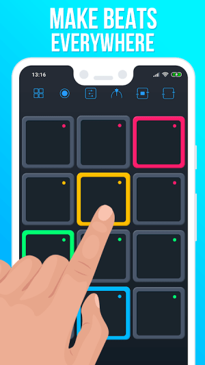 Android Drum Pads Guru Screen 2