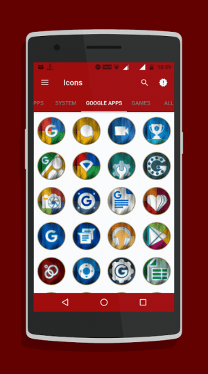 Arc - Icon Pack 2.5 Screen 3