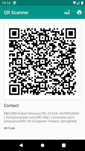 QR & Barcode Reader 2.6.9-L Screen 3