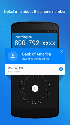 Caller ID, True Call & Call Blocker: Showcaller 2.0.8 Screen 2