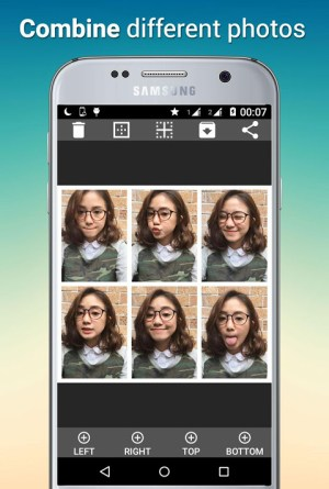 Android Tiled Photo Collage Screen 2