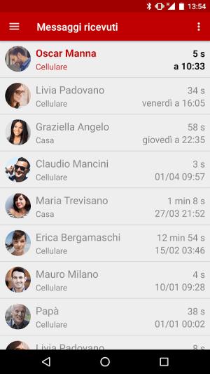 Iliad Visual Voicemail 3.1.8 Screen 2