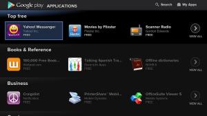 Android Google TV - Google Play Store Screen 3