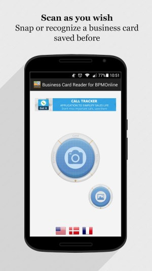 Android bpm'online CRM Business Card Reader Screen 10