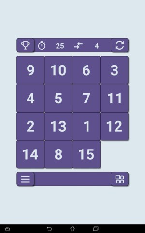 15 puzzle 2.1 Screen 9