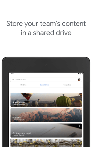 Google Drive 2.20.491.03.45 Screen 3