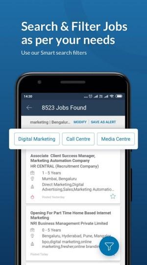 Naukri.com Job Search 12.6 Screen 6