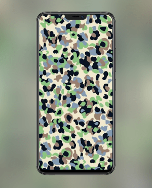 Android Camouflage Wallpapers and Backgrounds Screen 6