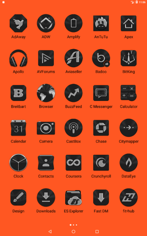 Black Icon Pack Free 3.9 Screen 16