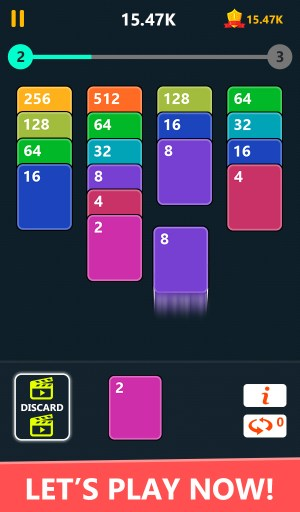 Android 2048 Solitaire Card Game Screen 10