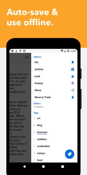 Standard Notes 3.0.10 Screen 3