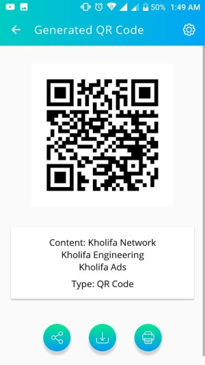 Android QR Access Screen 4
