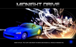 Android Midnight Drive Screen 2
