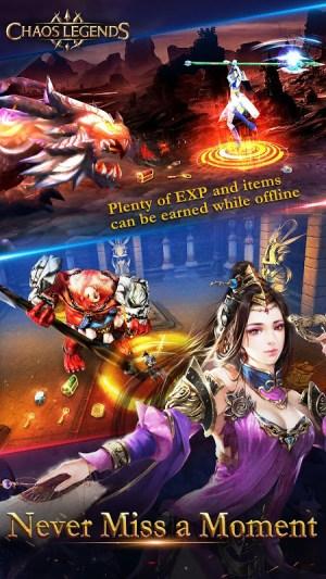 Chaos Legends 1.3 Screen 2