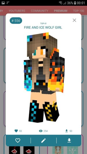 Android Skins MASTER for MINECRAFT (30 000 Skins) + Editor Screen 10