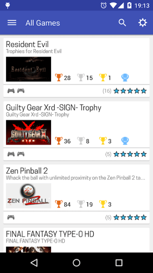 PS Trophies 7.3.2 Screen 4