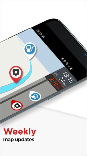 TomTom GPS Navigation Traffic 2.2.3 Screen 4