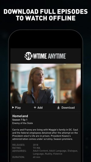 Showtime Anytime 3.6 Screen 3