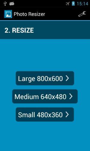 Photo Resizer 1.2.8 Screen 3