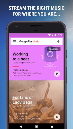 Google Play Music 8.8.6837-1.B Screen 4