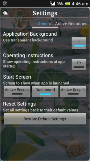 Connection Stabilizer Booster 1.9.1 Screen 4