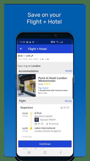 eDreams: Book cheap flights and travel deals 4.143.0 Screen 5