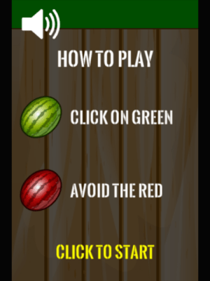 Android Watermelon Smasher Frenzy - Watermelon Smash Game Screen 1