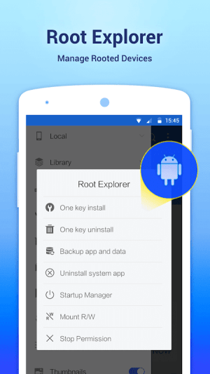 Android ES File Explorer/Manager PRO Screen 15