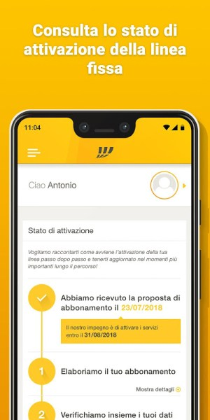 MyFastweb 4.4.18 Screen 4
