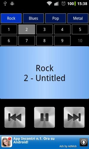 Android Drum Loops Screen 1