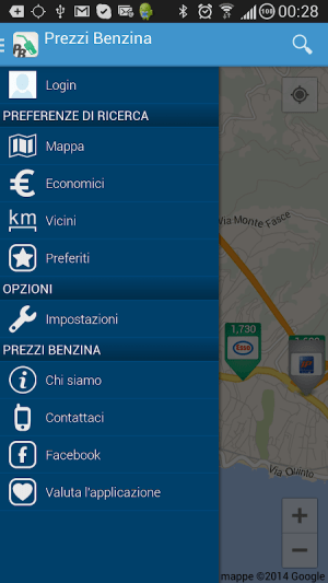 Prezzi Benzina - GPL e Metano 3.21.01.12-H Screen 1