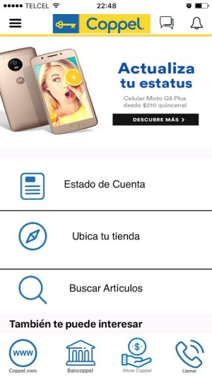 Coppel 4.3.2 Screen 7