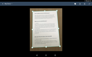 Android CamScanner - Scanner to scan PDF Screen 7