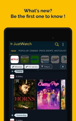JustWatch - Search Engine for Streaming and Cinema 2.5.13 Screen 16