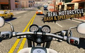 Android Moto Rider GO: Highway Traffic Screen 3