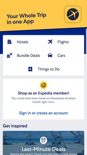 Expedia Hotel, Flight, Car Hires & Activities 21.28.0 Screen 10