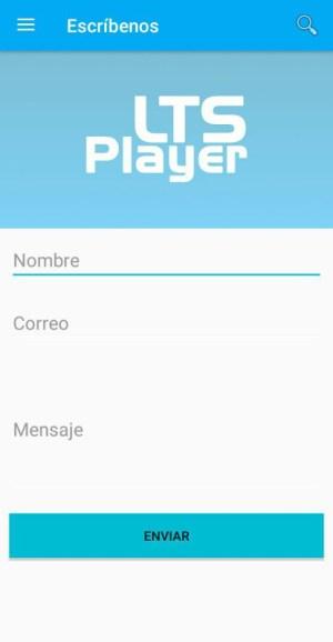 LTS Player New Update Screen 1
