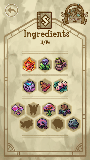 Android Alchademy Screen 3